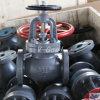 Нормальный вентиль чугуна клапана JIS F7305 F7307 F7309 морской