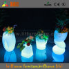 LEDの花つぼ及び携帯用輝いたプランター