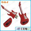De Stok van pvc USB van de Vorm van de gitaar, OEM de Stok van de Gitaar USB, de Hete Stok van pvc USB van de Verkoop