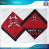 Красный Silk Bandana квадрата сатинировки (B-NF20F19005)