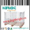 Contenitore della gabbia del contenitore di pallet della rete metallica euro