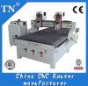 Doppelte Hauptholz CNC-Gravierfräsmaschine