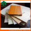 12mm Melamine/MDF Board van Wood Veneer/Plain