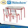 Cadeira de mesa nova do estudante do dobro do projeto ajustada para a mobília de escola