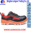 Sole calzature impresse del lavoro di sicurezza del cuoio TPU/pattini (GWPU-GB073)