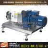 Horizontaler Verdränger-Drehvorsprung-Pumpe, Schokoladen-Pumpe, Zuckerübergangspumpe
