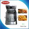 Contre- première friteuse électrique Ef-4 de cuisine générale d'acier inoxydable