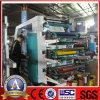 Film plastique Flexo Printing Equipment de Ytb-61200 6colors 1200mm Width
