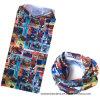 Bandana sans couture multifonctionnel de polyester de Microfiber imprimé par logo fait sur commande