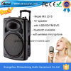 Alta qualidade Single 15-Inch Cheap Ative Speakers com USB/SD/Wireless Microphone