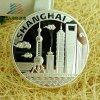 40 millimetri hanno personalizzato la moneta d'argento di sfida del ricordo del metallo del medaglione 999 per il regalo promozionale