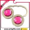 Percha rosada del monedero del Rhinestone de la promoción