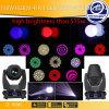 Diseño único 150W RGBW 4 en 1 LED Spot Luz principal móvil