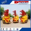 Camion de pompe concrète de la norme 25m 28m de l'euro III avec la perche en vente
