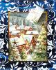 Scenario regalo di Natale sacchetto di carta ( CS - 022 )