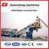 usine de traitement en lots concrète mobile automatique du mouvement 50m3/H facile en vente