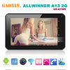7 '' PC barato de Allwinner A13 Single Core 2g SIM Calling Tablet
