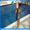 屋外の柵の手すりのバルコニーのプールFramelessの和らげられたか、または薄板にされたガラスの塀