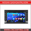 Android pur 4.4.4 Car GPS Player pour Nissans Qashqai/Paladin avec CPU 1g RAM 8g Inland Capatitive Touch Screen de Bluetooth A9. (AD-9900)