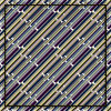 Linha lenço da seda de Customzied do teste padrão