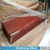 A cor revestida galvanizou o material de telhadura de aço, folha de aço Prepainted da telhadura