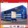 Schrittweises Semi Curtain Side Trailer für Bulk Cargo Transport