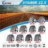 Fábrica de alta calidad de la marca de camiones / autobuses neumáticos (315 / 80R22.5)