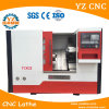 높은 정밀도 대만 기술 기울기 침대 CNC 선반