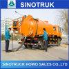 Pequeño carro de petrolero de la succión de las aguas residuales del mejor precio con la bomba de aguas residuales