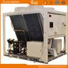 Gewächshaus-Bodenquellwärmepumpe-System
