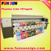 セイコーSpt510/50pl Head、157sqm/H PVCとのフェートン型オープンカーUD-3278K Bigの重義務Large Solvent Inkjet Printer Banner Printer