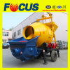 Конкретное Pumping с Mixer /Trailer Concrete Pumping