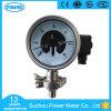 100mm elektrisches Kontakt-Druckanzeiger-Manometer mit Membranschelle-Typen Ss316L Material
