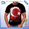 Allover voll gedruckte hochwertige konzipierte T-Shirts der kundenspezifischen Großhandelsmänner Baumwoll