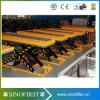 Factory di legno Use Stationary Hydraulic Scissor Lift Table con Roller