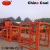 Bloco do cimento de Qtj4-26c que dá forma à máquina
