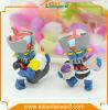 3D Aangepaste Hete Cijfers van de Actie van het Stuk speelgoed van de Verkoop