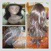 Culry 긴 내열 합성 머리 레이스 정면 가발