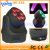 꿀벌 Eye 6PCS*10W RGBW 4in1 Zoom LED Light
