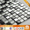 번쩍이는 Black and White, Stainless Steel 및 Glass Mosaics (M815054)