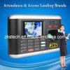 Sistema biometrico di calcolo del libro paga degli impiegati di Zks-T1 ISO9001