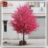 Árvore artificial da flor do pêssego da decoração por atacado do casamento