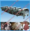 Reciclaje inútil del paño comercial hecho a máquina en China