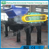 Sola desfibradora del eje para la basura inútil/municipal muerta del pollo/del cerdo/del vaca/animal del hueso/de la cocina/la basura/la madera/el neumático/la espuma médicos
