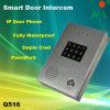 Wasserdichtes Audio Door Phone IP Door Phone Intercom mit Password u. Swipe Card