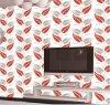 새로운 깊은 돋을새김된 PVC 벽 종이