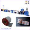 Alambre plano y el plano del color del alambre de línea de extrusión de la máquina