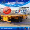 Flatbed Semi Semi Aanhangwagen van de Container van de Aanhangwagen
