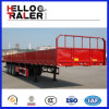 3 de Semi Aanhangwagen van de Doos van de Lading van de Aanhangwagen van de Vrachtwagen van de Lading van Buk van de as 50t