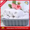 小さい印刷された使い捨て可能で白い綿の最もよい航空タオル